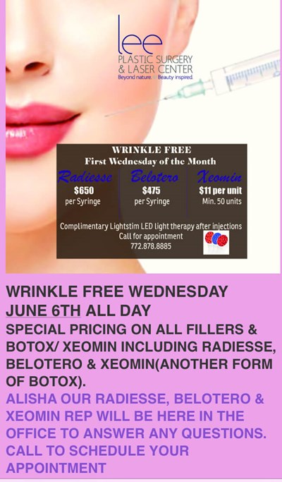 Wrinkle Free Wednesday